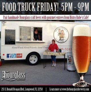 Hourglass food truck