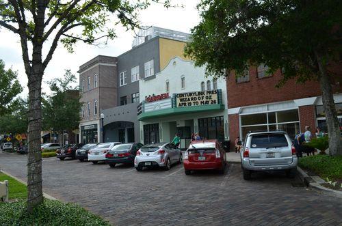 Street garden theater