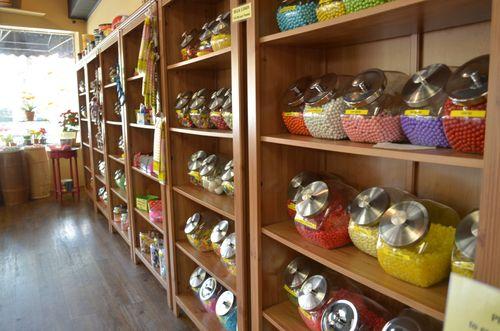Inside candy shopper