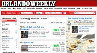 O weekly happy hour