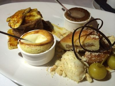 Old Hickory dessert sampler