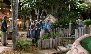 Congo river golf couples
