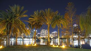 Lake eola night 2